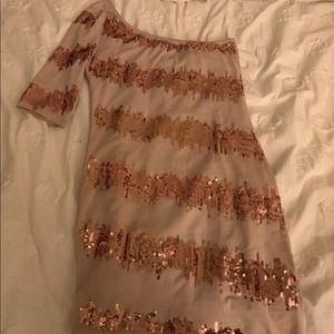 Sparkly Fora Cocktail Dress